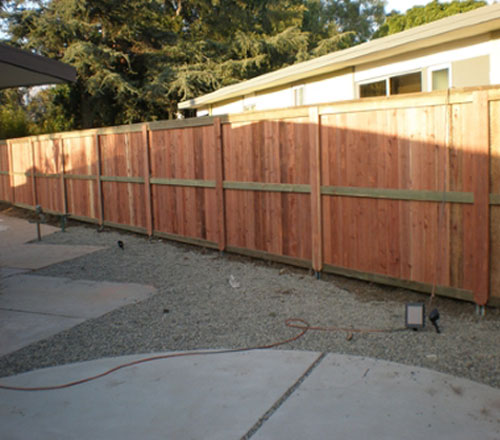 Wooden Fencing Installation