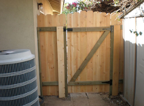 Home & Businesses Fence Gate