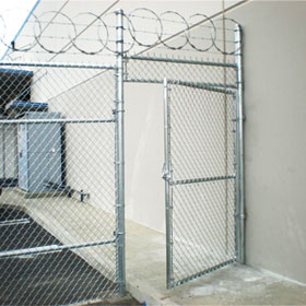 Commercial Chain Link Fence Brea