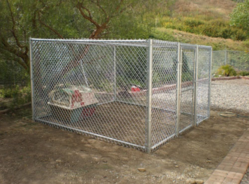 Dog Run Fencing Orange County Ca Chain Link Fence Dog