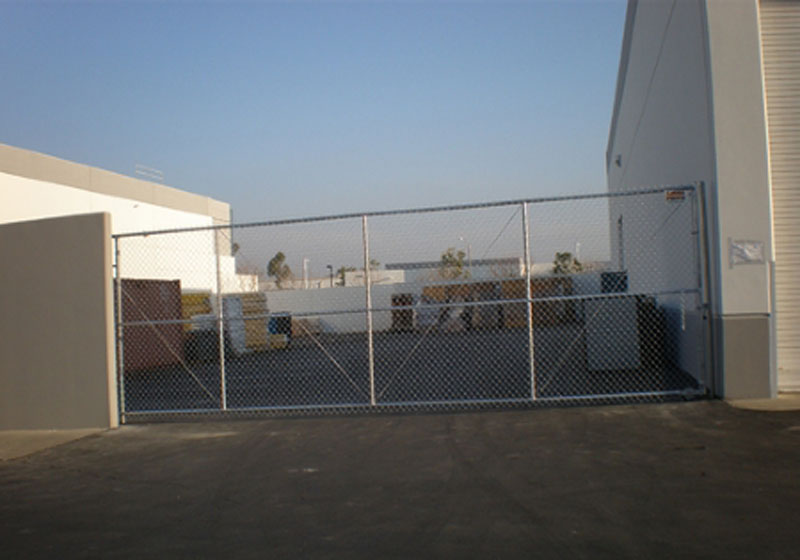 Commercial Chain Link Gate - Santa Ana