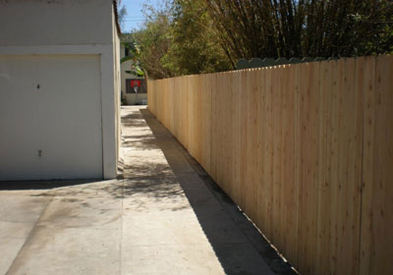 Dog Ear Cedar Wood Fence