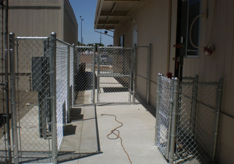 Custom Chain Link Gates Installation