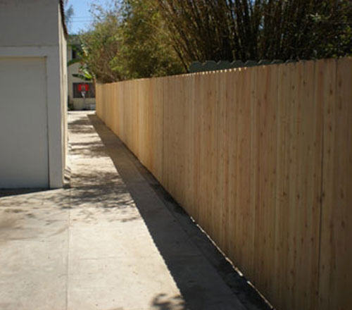 Home/Business Wood Fence