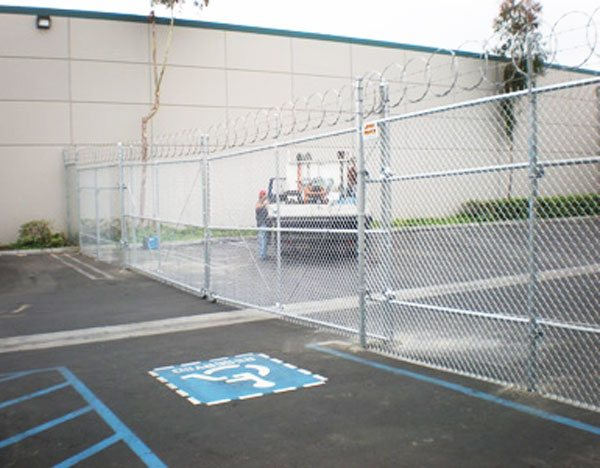 Outdoor Sport Court Fencing