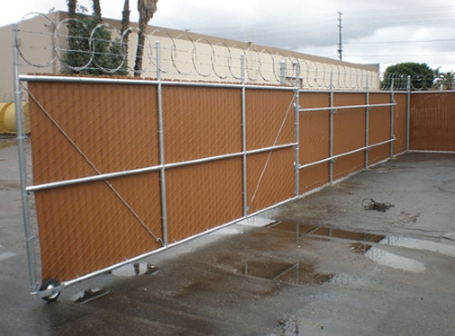 Chain Link Security Gates