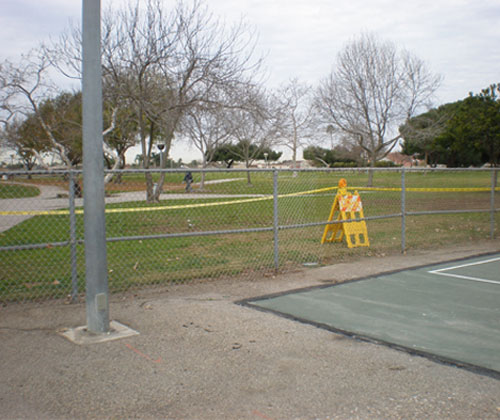 Sports Field Chain Link Fencing Orange County Ca Vinyl